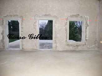 ouverture ceinture beton